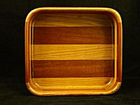 Mahogany oak Square Bowl