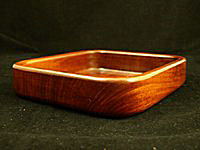 Mahogany square Bowl