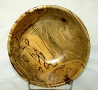 Spalted Elm Bowl