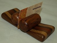Multiwood Business Card Holder