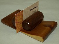 Osage Orange Business Card Holder