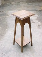 Mahogany Plant Stand order button