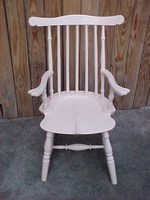 Child's White Windsor Chair